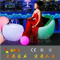 深圳发光椅子 酒吧酒店家具 led户外家具
