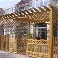 供应防腐木碳化木围栏栅栏