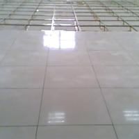 供应瓷砖面全钢防静电地板