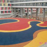 供应上海公园自然透水混凝土-彩色透水地坪