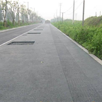 供应停车场彩色透水地坪-透水混凝土材料