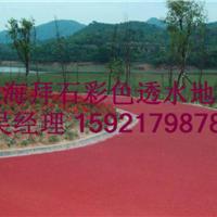 供应江苏城市绿道透水地坪渗水地坪渗水路面