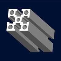 4040A-L工业支架铝型材