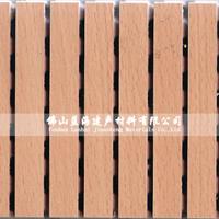 槽木质吸音板