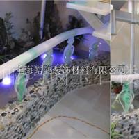 FRP仿玉石楼梯扶手/FRP树脂仿玉石背景造型