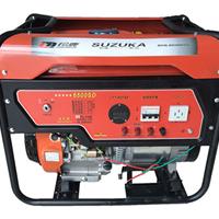 铃鹿动力三相5KW移动式汽油发电机6500QS