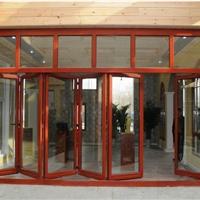 富洋好佳斯铝木复合折叠门