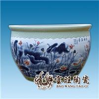 供应陶瓷大缸厂家 定做陶瓷装饰大缸