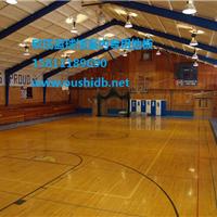 重庆篮球专用木地板 体育馆龙骨运动木地板