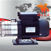 供应多级泵 CHLF型卧式不锈钢分段式多级泵