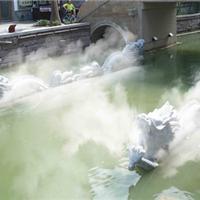 供应驾校培训模拟自然雨天雾天喷淋下雨设备厂家直销喷雾系统