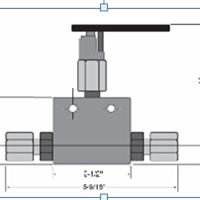 供应美国HIP两通浮动式球阀 原装进口