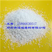 供应一级白刚玉18目粒度砂 含量高 耐磨性好
