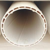 供应PVC-U中空螺旋消音管