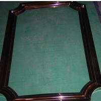 酒店KTV玻璃门不锈钢门框加工定做
