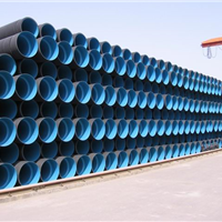 HDPE波纹管天津HDPE雨水管