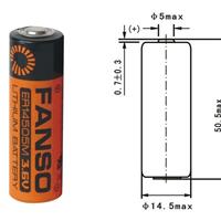 3.6v水气表专用ER14505M,ER18505M锂电池