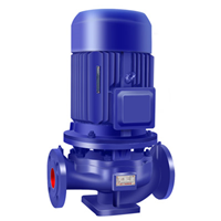 供应ISG125-160管道泵 微型热水管道泵