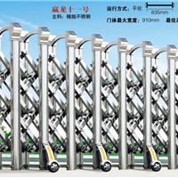 供应汕头、中山地区价格最低的不锈钢伸缩门