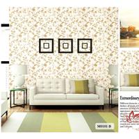 供应田园风格无缝墙布 M0101-B系列