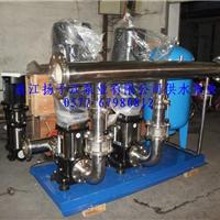 供应食品级不锈钢变频恒压供水设备