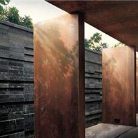 外墙装饰锈红钢板批发零售可来图定加工