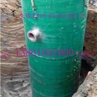 南京厂家最新开发一体化预制污水处理泵站