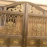 供应广州最好的艺术铸铝门w-06