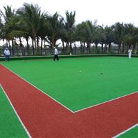 成都人工门球场草坪施工 重庆门球场塑料草