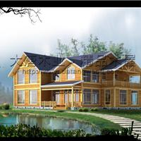 供应木屋别墅多少钱、小木屋、木屋价格