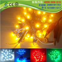 LED穿孔字外露灯|F5黄色发光字外露灯厂家