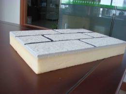 供应滨州盛华建材聚氨酯系列仿大理石一体板