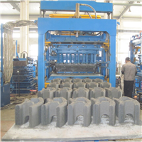 供应排污检查井砌块机械,井壁墙体模块砖机