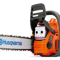 供应胡斯华纳445油锯价格锯木机品牌