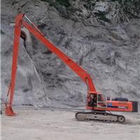 供应神钢挖掘机加长臂 长沙挖地铁专用 厂家
