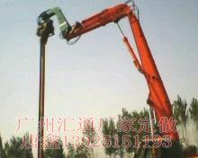 供应挖掘机加长臂拆楼臂 岩石臂 挖斗