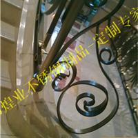 不锈钢阳台栏杆、不锈钢雕花型楼梯扶手公司