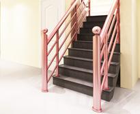 不锈钢楼梯扶手/彩色免焊接扶手FS-MH-001