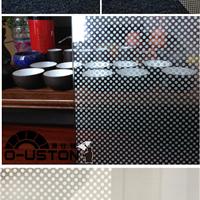 供应玻璃贴膜圆点磨砂膜天津汉高玻璃贴膜