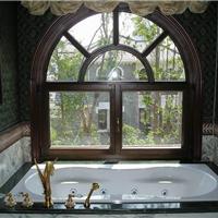 天津88红橡铝包木窗 无缝焊接