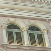 供应酒店外墙改装欧式建材GRC