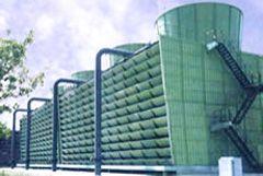供应混凝土框架逆流式玻璃钢冷却塔