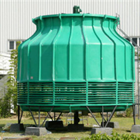 供应圆形逆流式玻璃钢冷却塔