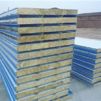 生产销售彩钢岩棉板活动房