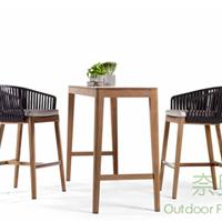 供应咖啡厅实木吧台桌椅