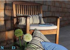 供应别墅花园时尚休闲实木椅