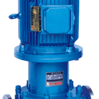 CQG立式不锈钢管道式磁力泵