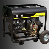 250A柴油发电电焊机|5kw辅助电源