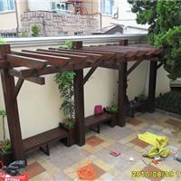 南阳防腐木,花架,凉亭,碳化木,碳化木