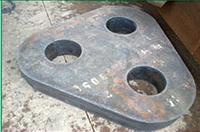 各种型号钢板异形切割件 冲压件 法兰